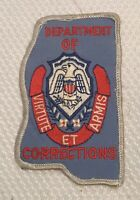 Vintage Mississippi Department Of Corrections Patch