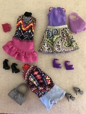 New Barbie 3 Sets Sparkle Girlz Clothes Lot Fits Model Muse Shoes Purse Lot D