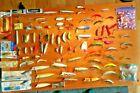 VINTAGE FISHING LURE LOT MARTIN HEDDON PFLUEGER SHAKESPEARE & MORE 100 Plus Pcs.