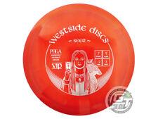 New Westside Discs Vip Seer 170g Red Silver Stamp Fairway Driver Golf Disc