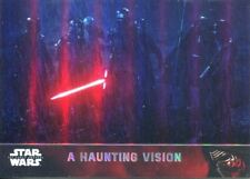 Star Wars Force Awakens Chrome Refractor Base Card #54 A Haunting Vision