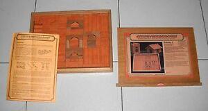 BUILDING BRICK BOX Gerbitz Steinbaukasten – Construction KIT C Domus Kits Matton