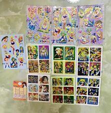 Sailor Moon 10 Prism sticker Sheets Lot