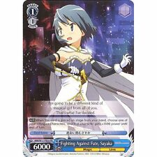 Weiss Schwarz TCG Madoka Magica Promo Fighting Against Fate, Sayaka PE03