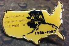 Anchorage North Stars Pee Wee A pin badge 1986 - 1987