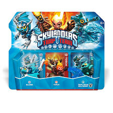 Set of 3 Skylanders Trap Team Figures Blades Torch Gill Grunt A186 2014
