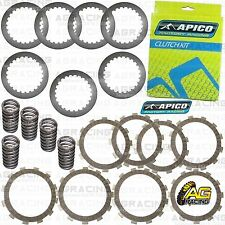 Apico Clutch Kit Steel Friction Plates & Springs For Honda CR 125 2001 Motocross