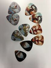 New Art Tribute Salvador Dali, Roosevelt Themed Guitar Picks 11ct