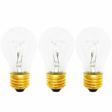 3-Pack Light Bulb for Whirlpool SF114PXSQ2, SF315PEMQ1, SF315PEPQ2, SF315PEPW1