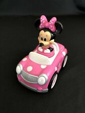 New listing Disney Junior Minnie Mouse Push and Go Racer Car Toddler Toy 12 months & up