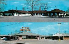 Dayton Ohio~Royal Motel~Plaza Motel~Free Television~Beautyrest Mattresses 1958