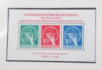 Berlin 1948 bis 1990 postfrisch + gestempelt TOP-Sammlung vieles geprüft BPP
