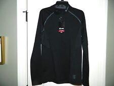 Men's Nike Pro Black 1/4 Pullover Size Medium-Nwt