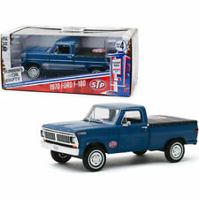 1 24 Greenlight - STP 1970 Ford F-100 With Bed Cover