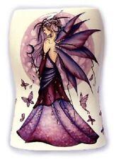 Jessica Galbreth Faery Fairy Porcelain Lavender Moon Vase Large EAD382 NEW