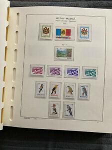 Ein weiteres Vordruckalbum mit postfrischen Marken aus Moldawien