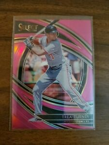 2020 Select Baseball Trea Turner /10 Washington!!!