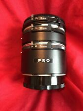 Pro Extention Close Up Tube 12mm, 20mm, 36mm For Minolta MD