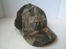 Anticosti Big Buck Hunt 2007 Camo Hat Camouflage Strapback Baseball Cap