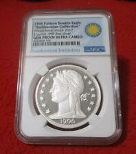 1906 Pattern Double Eagle 1oz Silver - Private Issue  NGC Gem Prf UC   #MF-T2716