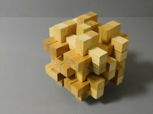 Ole Uncle Smiley's Polyburr Wooden Puzzle-30 Pieces- No 02