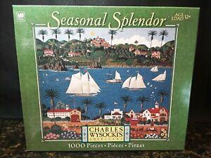Charles Wysocki's Americana Seasonal Splendor OLD CALIFORNIA 1000 Pc Puzzle New