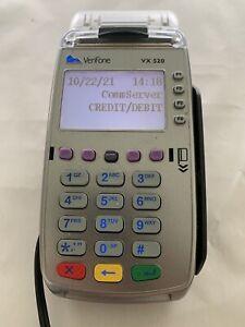 Verifone VX520 VX 520 Credit Card Machine Terminal Reader w/ Power Cord