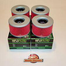 Honda CX500TC CX650T Turbo V-Twin Engine Oil Filter x 4 Set. KIT072