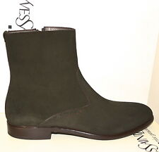 NIB YVES SAINT LAURENT YSL SUEDE BOOTS SHOES SZ US 9.5 EU 42.5 MADE IN ITALY