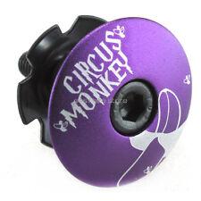 New Circus Monkey Headset Stem Top Cap Bolt 1-1/8 Road Mtb Purple