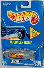 Hot Wheels Blimp Goodyear Blue Card Collector #194 Malaysia 1992
