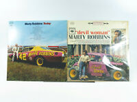 LOT OF 2 - Marty Robins - Devil Woman & Today | Vinyl LP | VG+