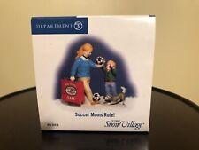 Dept 56 Snow Village Accessory Soccer Moms Rule! #56.55416 New In Box