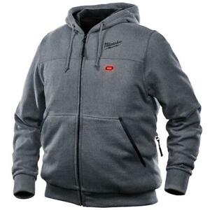 Milwaukee 302G-21M M12 FUEL 12V Heated Hoodie Kit - X-Large, Gray