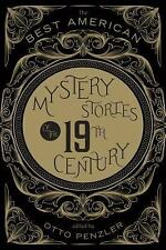 Best American Mystery Stories of the 19th Century Otto Penzler HB DJ 2014