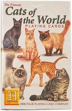 Cats of The World Playing Cards - by Heritage