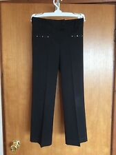 MARKS & SPENCER BLACK SCHOOL UNIFORM TROUSERS SIZE 7-8 YEARS