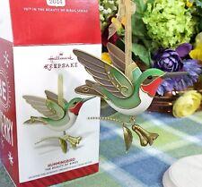 Hallmark Hummingbird ornament #10 Beauty of Birds Series 2014
