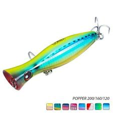 Fishing Lure Artificial Bait 3D Fish Eyes ABS Plastic Wire Troghout Ocean Beach