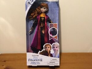 Disney Store Frozen 2 Singing Anna Doll