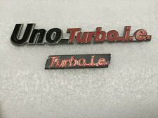 FIAT UNO TURBO MK1 RADIATOR GRILLE & TAILGATE EMBLEMS