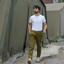 Mint 1952 Wool Field Pants- ARMEE French Military Camping Vintage Filson Style Large Hunting 35 waist 43 length