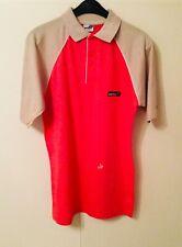 New listing BNWT Donic Retro Orange & Beige Table Tennis Polo Shirt - size XS