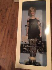 BNIB-Franklin Mint Princess Diana Doll w/lot of 11 outfits