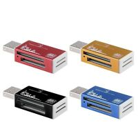 USB 2.0 Multi Memory Card Reader Adapter For Micro SD SDHC TF M2 MMC MS PRO DUO