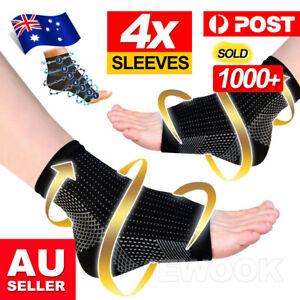 2 Pair Foot Sleeve Plantar Fasciitis Compression Socks Achy Swelling Heel Ankle