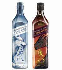 Johnnie Walker GoT Whisky Set: A Song of Fire and Ice, 40,8+40,2 % Vol., 2x 0,7L