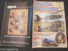 AEREI vendo rivista di RADIO CONTROL MODELS & ELECTRONICS 1984 MODELLISMO old