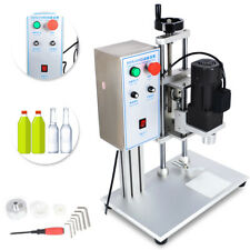110V Desktop Electric Round Bottle Screw Capping Machine Capper Sealing Tool USA