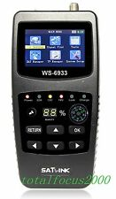 Satlink WS 6933 HD DVB-S2 Digital Satellite Signal Finder